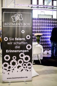 Roll up Banner BestMan's Box in Mannheim