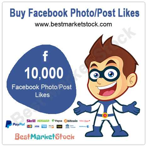 10000 Facebook Photo Post Likes
