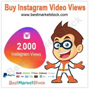 2000 Instagram Video Views