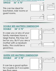 Mattress size chart also single double king or queen what do they rh bestmattress