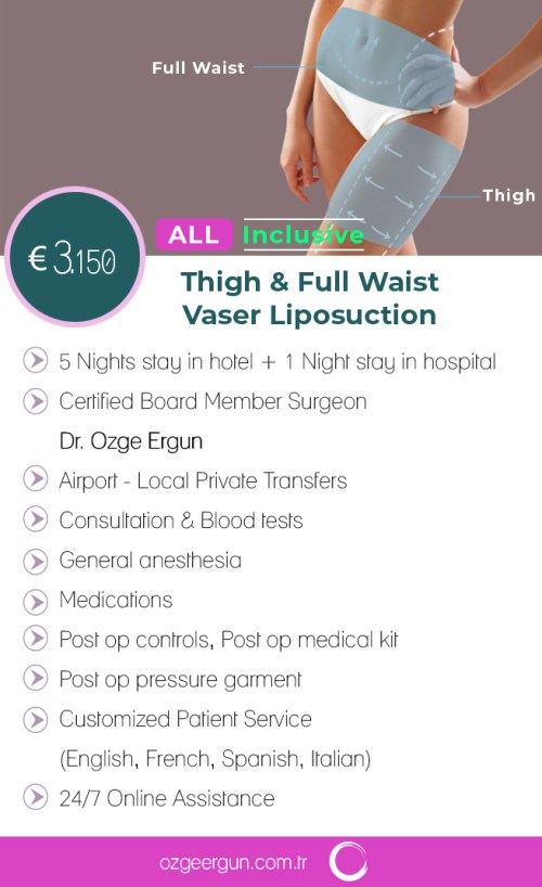 Vaser Liposuction & Thigh Liposuction Package