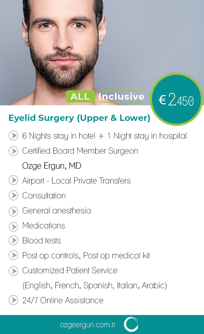 Eyelid Removal Man All Inclusive