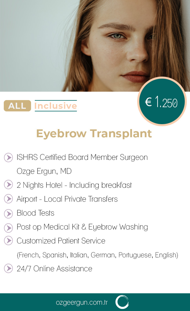 Eyebrow Transplant All Inclusive