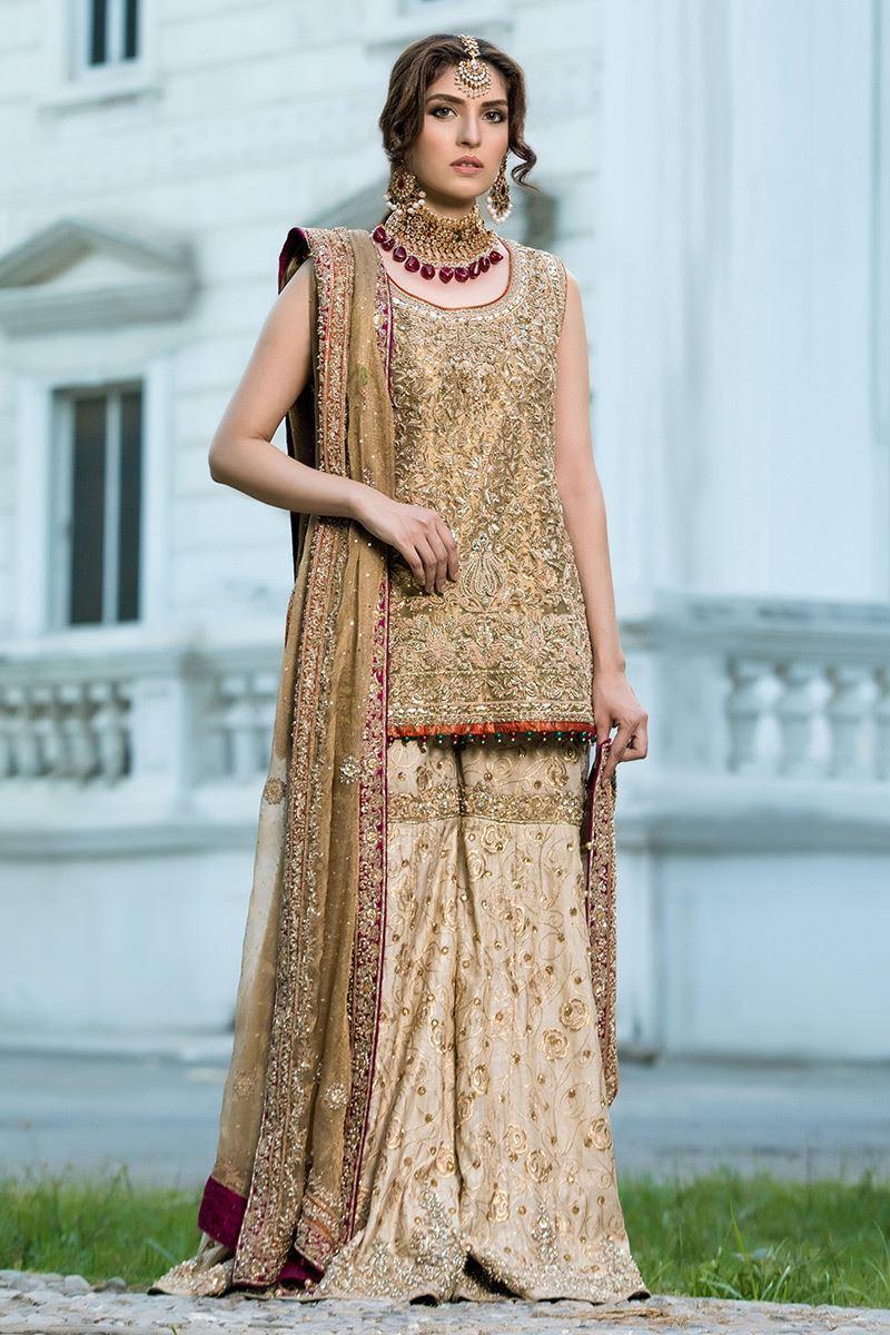 9 Pakistani Mehndi Dresses by Aisha Imran , Pakistani Mehndi