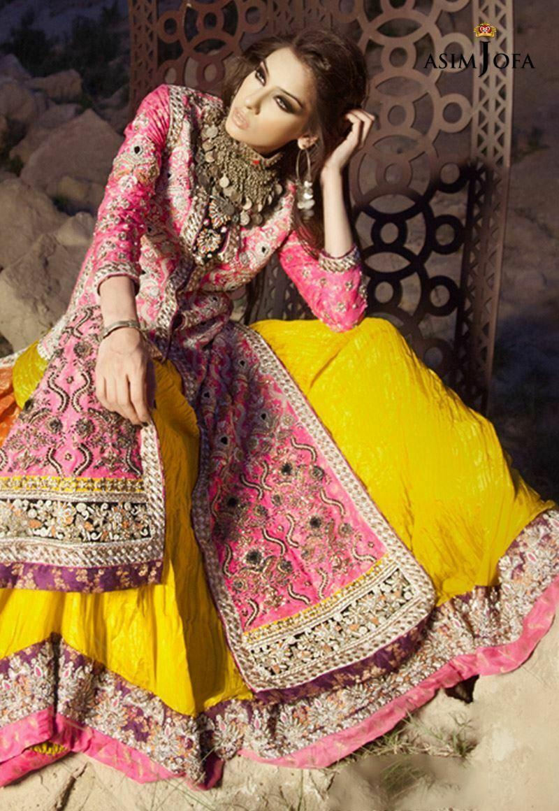Color Combination Mehndi Clothes