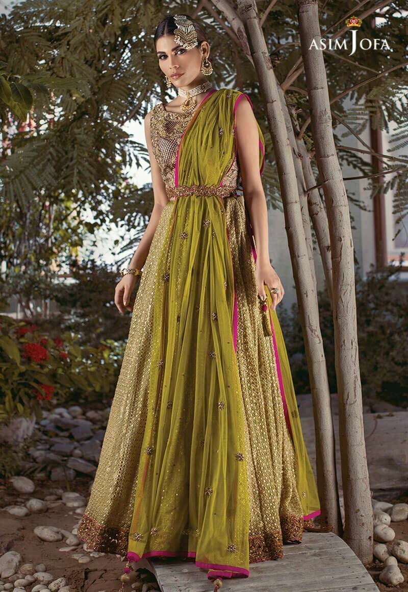 Mehndi Clothes Design