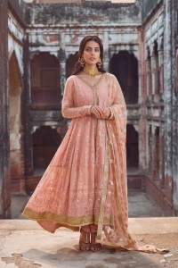 Designer Anarkali Dress by Qalamkar