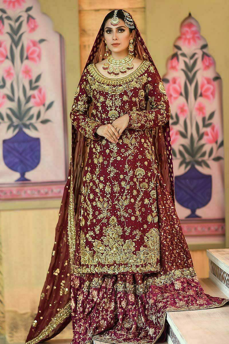 Ansab JahangirDesigner Pakistani Wedding Dress