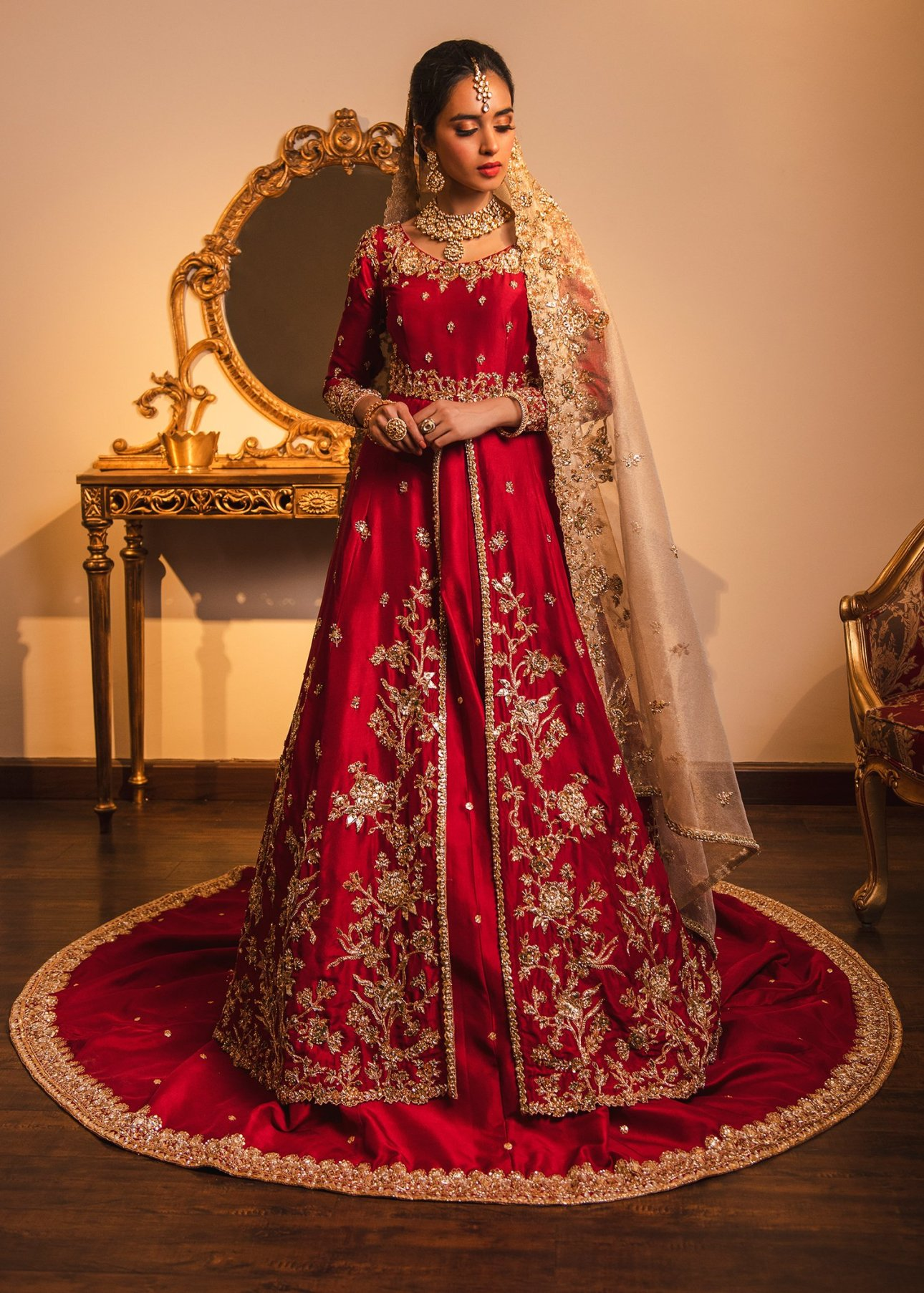 Sadaf Fawad KhanDesigner Pakistani Wedding Dress