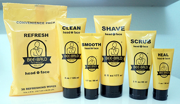 Review Of Bee Bald Man Care Products  Best Men's & Women