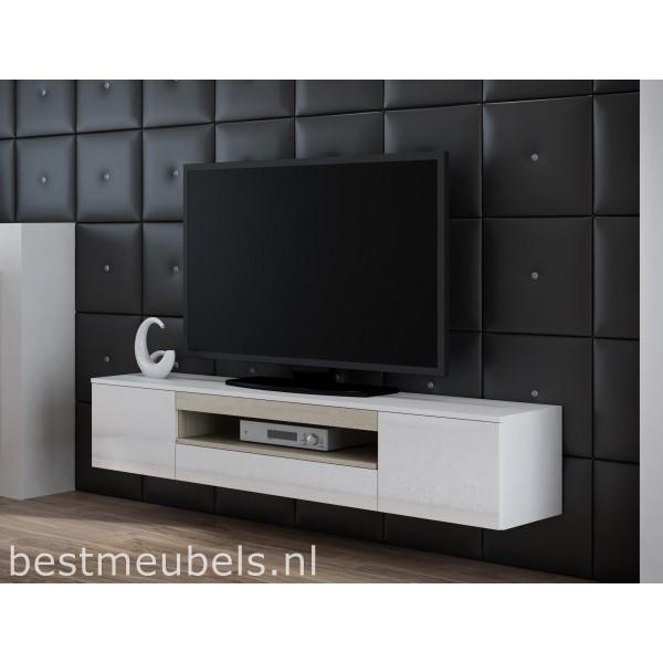 Tv Meubel Zwart Hoogglans