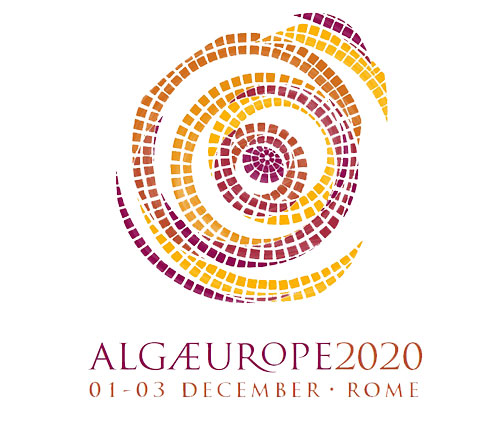 Logo of the AlgaEurope 2020 microalgae summit