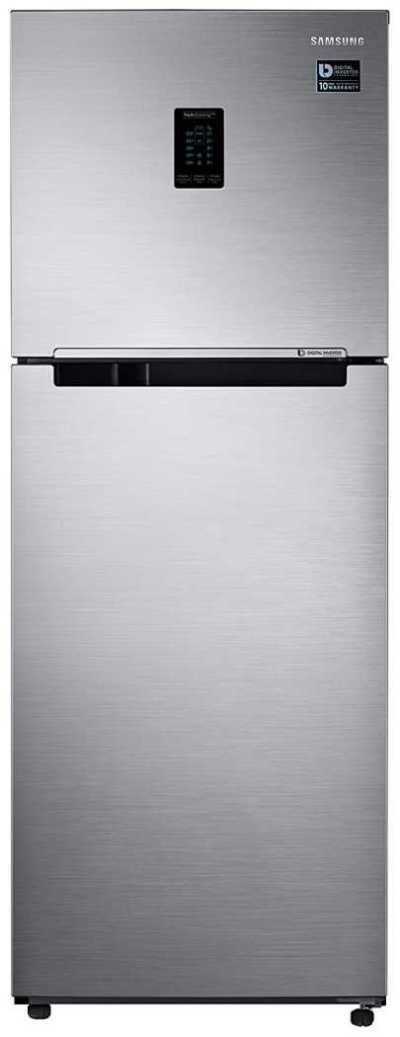 Samsung 324L 3 Star Inverter Double Door Refrigerator (RT34T4513S8:HL,Convertible)