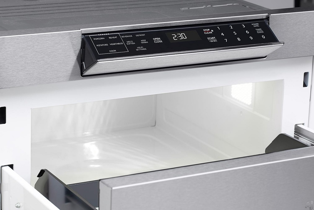 sharp smd2470as built in microwave drawer