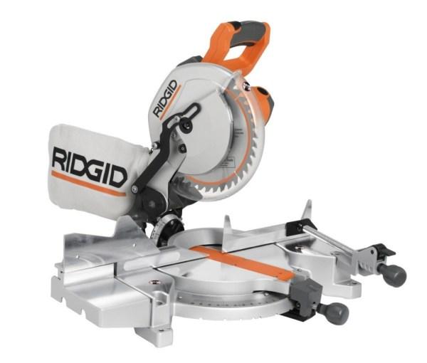 Ridgid MS1065LZA Saw 10Inch Compound Miter Review