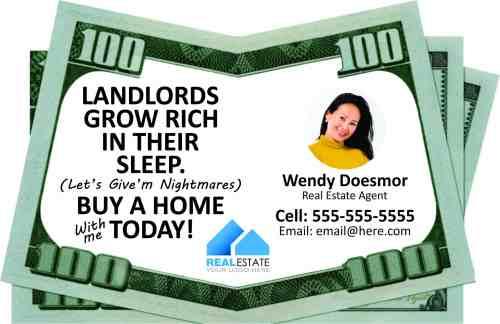 Landlords Grow Rich In Their Sleep