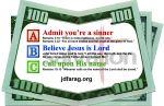 Robin Scott Ministries - Money Card - Current Style