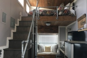 What It's Like to stay in a tiny house community first village