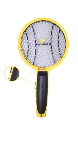 Hunter Mosquito Swatter Mini Bat Battery Operated Non Rechargeable