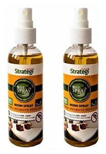 Herbal Strategi Justspray Herbal Mosquito Repellent Room Spray - 100ml (Pack of 2)