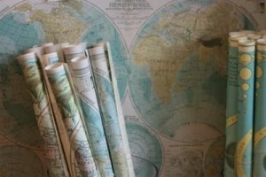 your movers Boca Raton can move you anywhere you need, even if it's across the countries covered by an antique set of maps such as these.