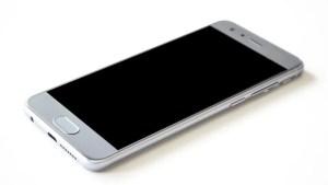 An smartphone