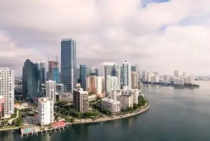 Many urban centres in Florida, such as this one, help the city develop and grow economically.