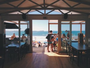 A restaurant on the beach that makes moving to Sunny Isles Beach excellent idea