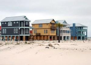 Beach homes.