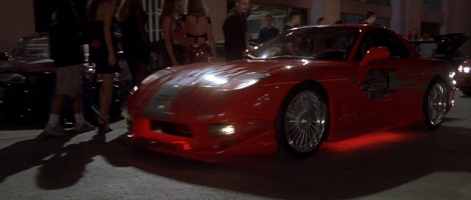 mazda rx 7 from fast and furious 1