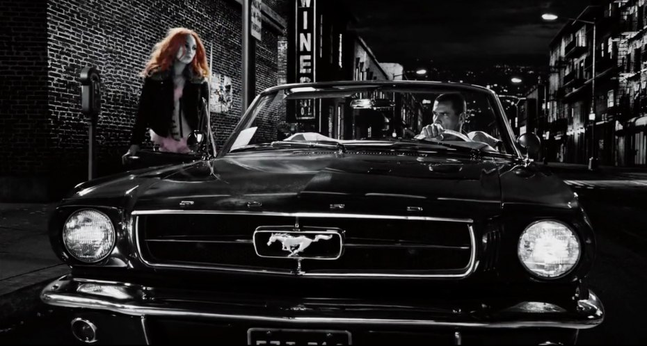 4k Car Wallpaper Mustang 1960 All The Cars In Sin City A Dame To Kill For 2014