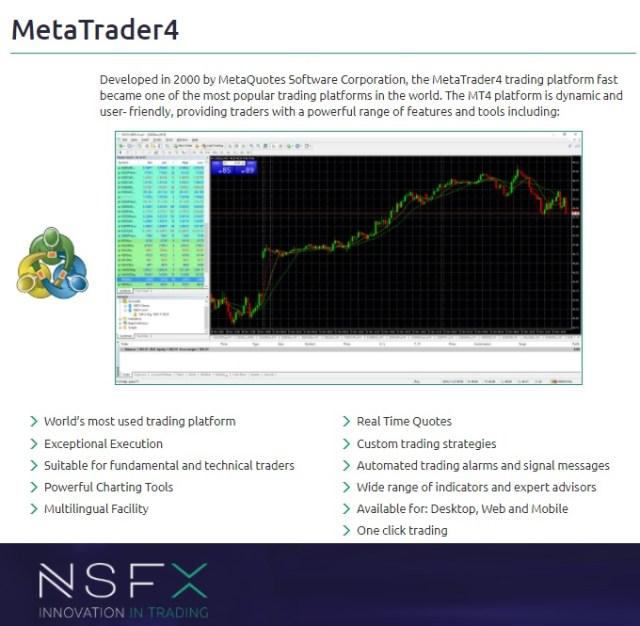 NSFX MT4 Trading