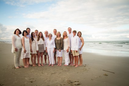 large family reunion in Myrtle Beach