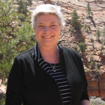 Martha Marks in Zion National Park