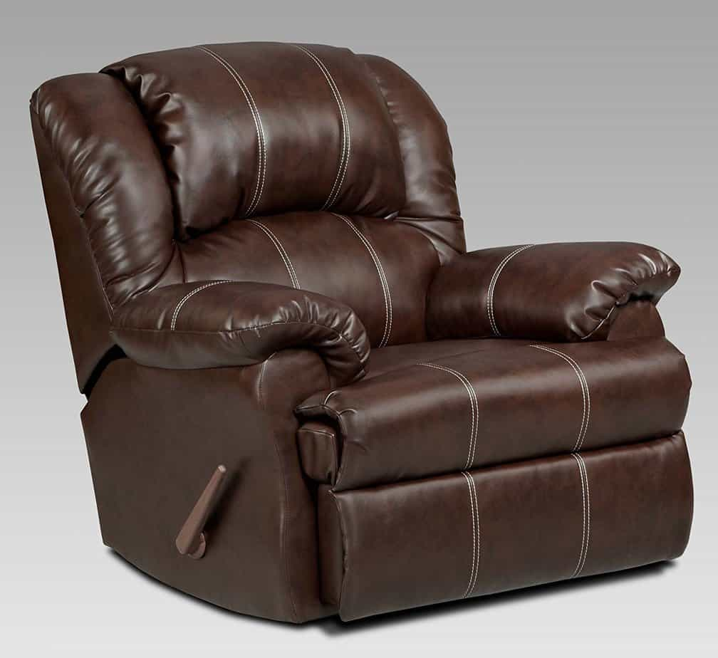 Leather Reclining Chair Best Recliner For Big And Tall Man That Offers Maximum
