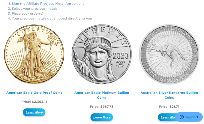 Best Free MLM Company that Pays in Bitcoin or Precious Metals (Gold,Silver,Platinum)