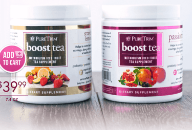 pure trim boost tea review