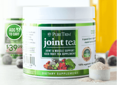 pure trim joint tea review