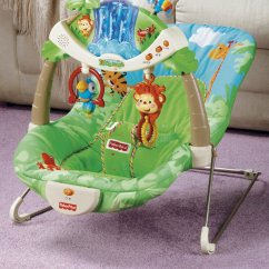 Walker Bouncing Chair Wooden Childrens Captain Chairs Best Baby Bouncer - Fisher-price Rainforest Review New Moms Magazine | ...