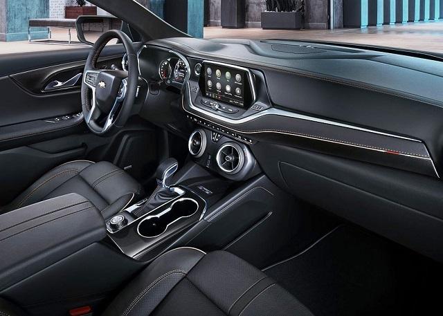 2022 Chevy Blazer dashboard