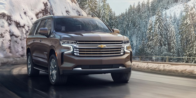 2022 Chevy Suburban front view