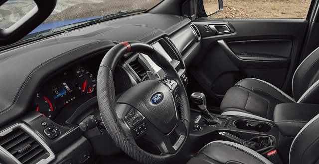 2022 Ford Courier interior