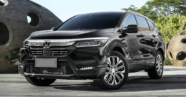 2022 Honda CR-V front view
