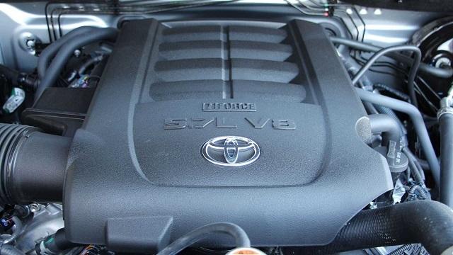 2022 Toyota Sequoia engine