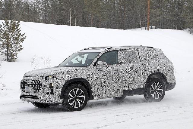 2022 Audi Q9 Spy shots