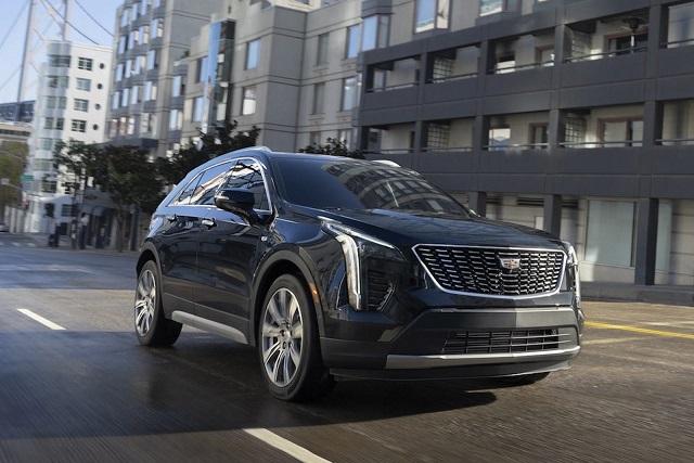2022 Cadillac XT4 specs