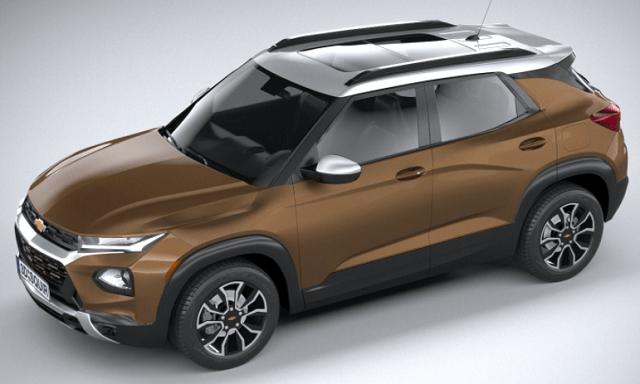 2022 Chevy Trailblazer top view