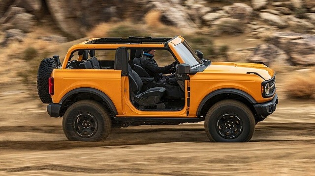 2022 Ford Bronco side view