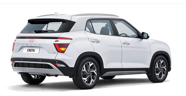 2022 Hyundai Creta rear view
