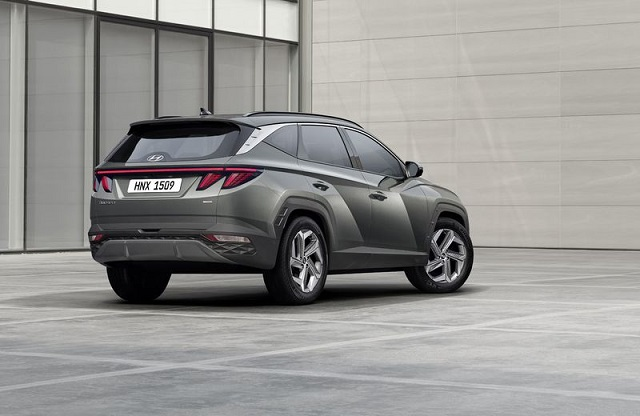 2022 Hyundai Tucson rear view